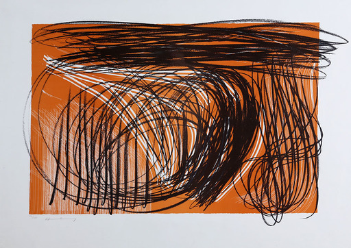 Hans HARTUNG - Estampe-Multiple - L-1971-1