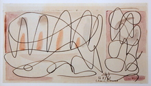 Serge CHARCHOUNE - Drawing-Watercolor - Composition