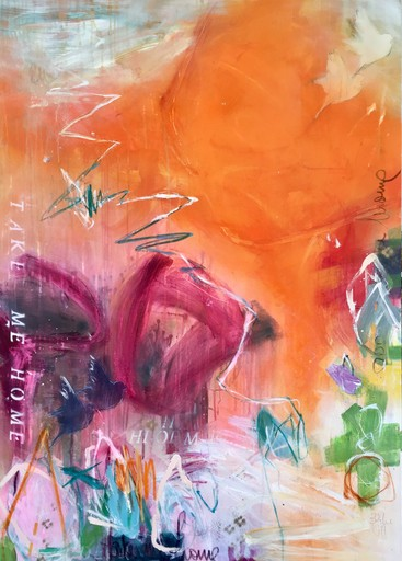 Bea GARDING SCHUBERT - Painting - take me home I