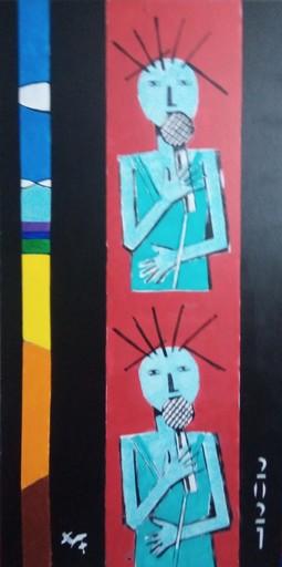 Harry BARTLETT FENNEY - Painting - chanteuse 2021