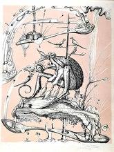 萨尔瓦多·达利 - 版画 - From the Colourful Cycle: Funny Dreams of Pantagruel