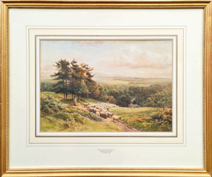 Henry BIRTLES - Drawing-Watercolor - Away to Fresh Pastures