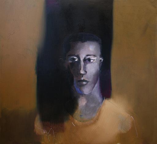 Klaus Karl MEHRKENS - Painting - Gesicht III