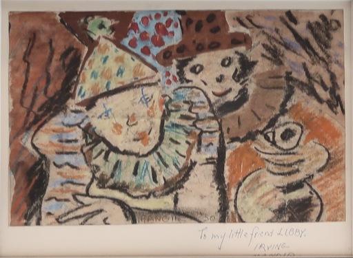 Irving K. MANOIR - Drawing-Watercolor