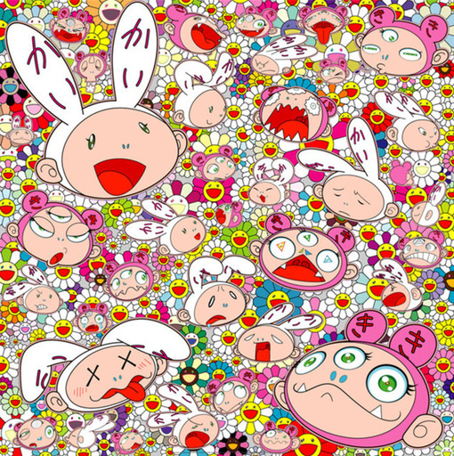 Takashi MURAKAMI - Print-Multiple - There's bound to be difficult time There's bound to be (...)