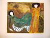 "Linda LE KINFF - Druckgrafik-Multiple - ""Hommage à Munch"""