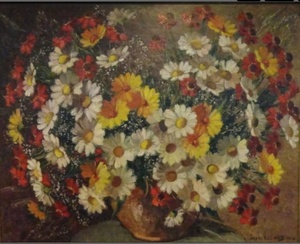 Jean RIGAUD, Bouquet champêtre