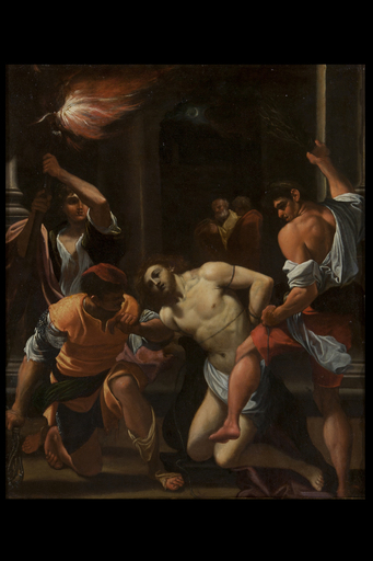 Ludovico CARRACCI - Painting - The flagellation of Christ