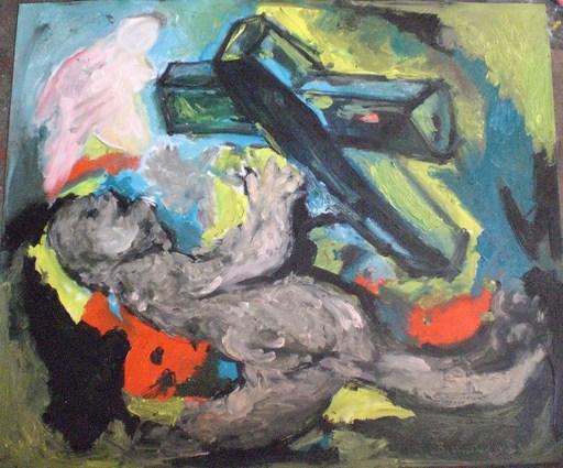 Bernard MOREL - Gemälde - LA CROIX