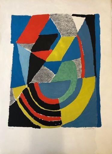 Sonia DELAUNAY - Print-Multiple - TROISIEME  DIMENSION