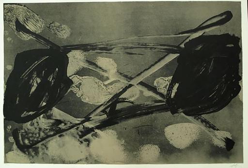 Antoni TAPIES - Print-Multiple - 2. Empreinte Barrée 1