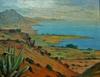 Paul NICOLAS - Painting - La cote Algéroise