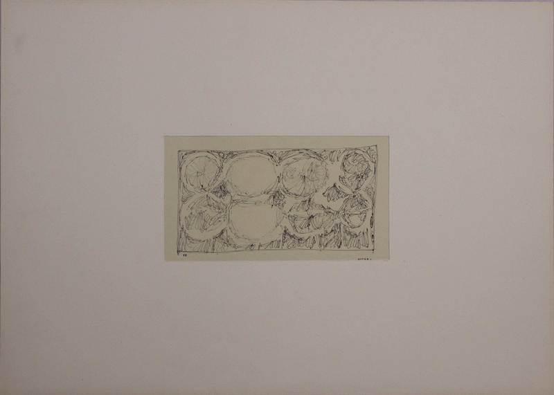 Romano NOTARI - Drawing-Watercolor - Senza titolo