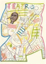 米莫·帕拉迪诺 - 版画 - Pinocchio II