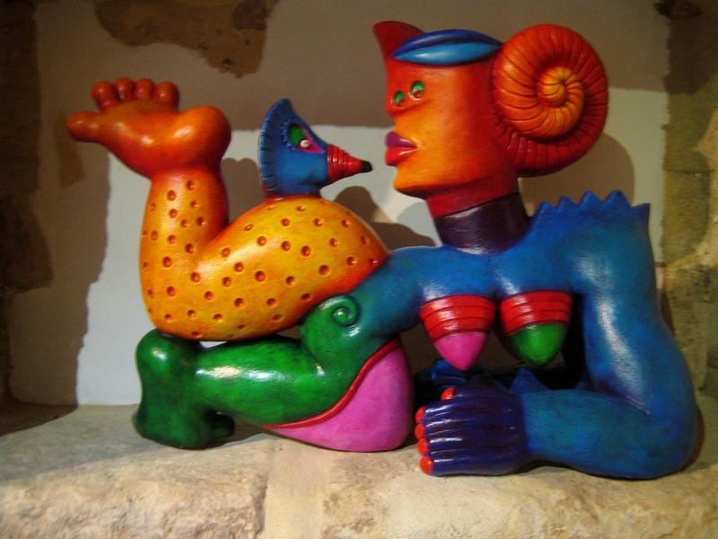 Clemens BRIELS - Escultura - L'HIRONDELLE