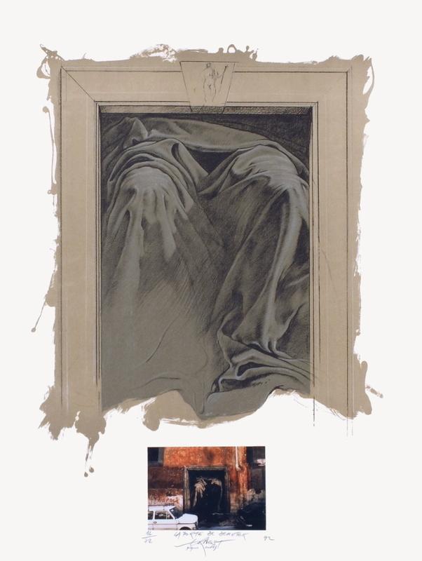 Ernest PIGNON-ERNEST - Print-Multiple - La porte de Demeter