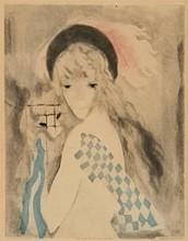 Marie LAURENCIN - Print-Multiple - FEMME  AU SINGE
