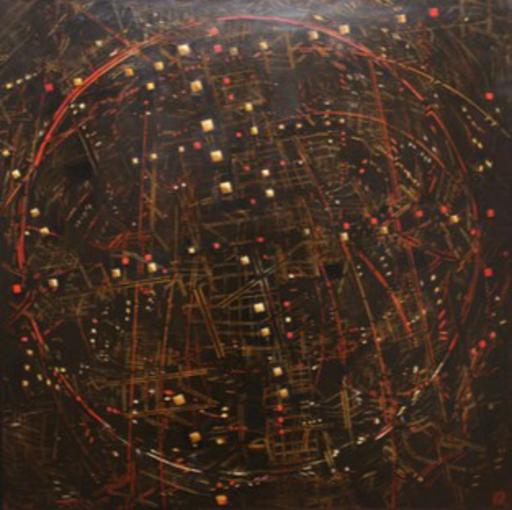 David APIKIAN - Pittura - Espace du Ciel Intérieur
