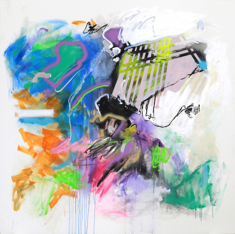 Rosario RIVERA BOND - Painting - Unbounded 4