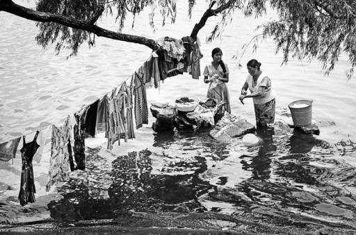 Robbert Frank HAGENS - Photography - Tree Washing Line - Mexico 1977