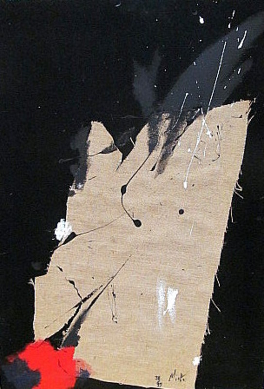 Jean MIOTTE - Peinture - Composition - Komposition.