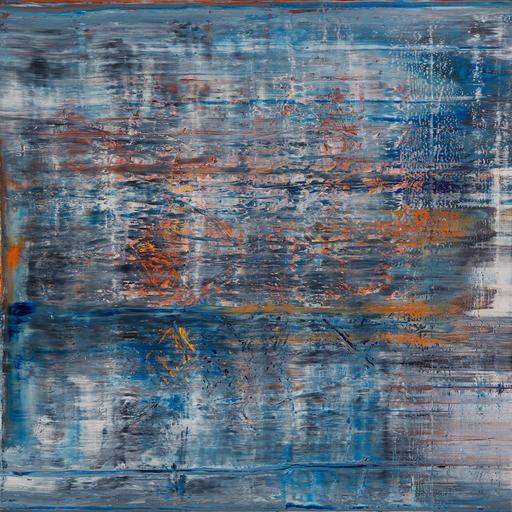 Harry James MOODY - Peinture - Abstract No.392
