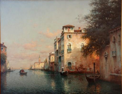 "Antoine BOUVARD - Pintura - ""LE CANAL A VENISE"""
