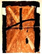 安东尼•塔皮埃斯 - 版画 - Trois Gris Et Marron