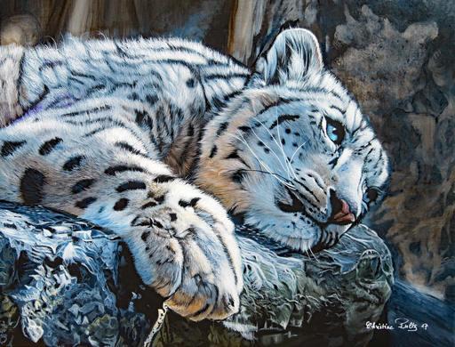 Christine PULTZ - Painting - Attowa