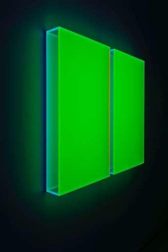 Regine SCHUMANN - Sculpture-Volume - Color satin green Milan