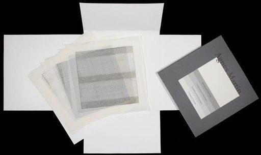 Agnes MARTIN - Print-Multiple - Paintings and Drawings, from the Stedelijk Museum portfolio