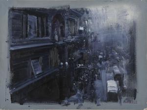 Alexey ALPATOV - Painting - Herald's Square