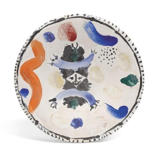 Pablo PICASSO - Keramiken - Petit masque central