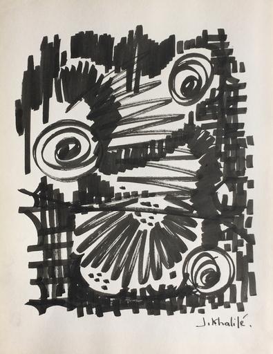 Jean KHALIFEH - Drawing-Watercolor - Sans titre