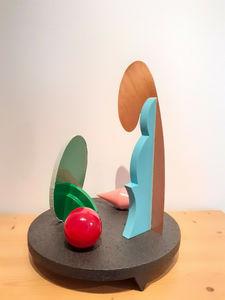 Lucio DEL PEZZO - Sculpture-Volume - Centrotavola