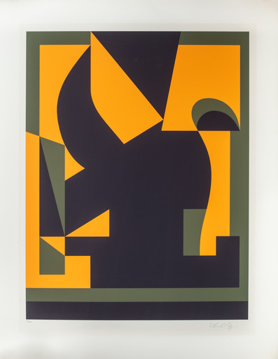 Victor VASARELY - Estampe-Multiple - Santorin-A