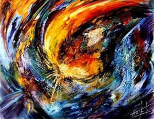 Didier ANGELS - Peinture - Si Mystérieux