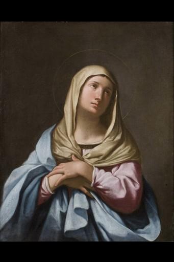 Girolamo NEGRI IL BOCCIA - Painting - Madonna