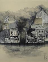 Géraldine THEUROT - Gemälde - Urban II    (Cat N° 4923)