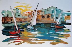 Diana KIROVA - Painting - Monopoli, Bari II