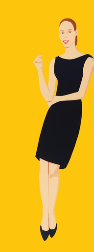 Alex KATZ - Grabado - Black Dress - Ulla
