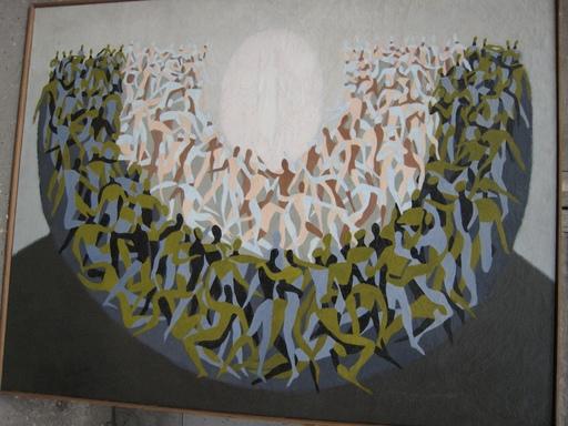 Véra PAGAVA - Peinture - sans titre