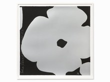 Donald SULTAN - Estampe-Multiple - Silver Flowers, March 3
