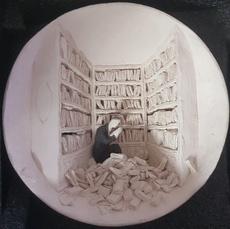 Pino DEODATO - Céramique - Biblioteca