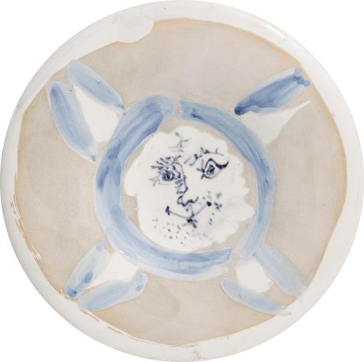 巴勃罗•毕加索 - 陶瓷  - Visage n°72