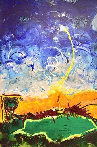 Mario SCHIFANO - Pintura - Vulcano