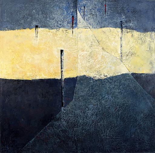 Tomás SUNYOL - Gemälde - Un esquinç de llum