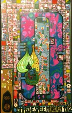 Friedensreich HUNDERTWASSER (1928-2000) - *Olympic Red and Olympic Pink