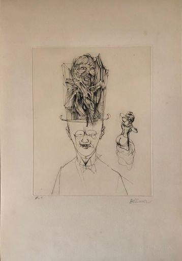 Hans BELLMER - Print-Multiple - L'Homme au chapeau melon