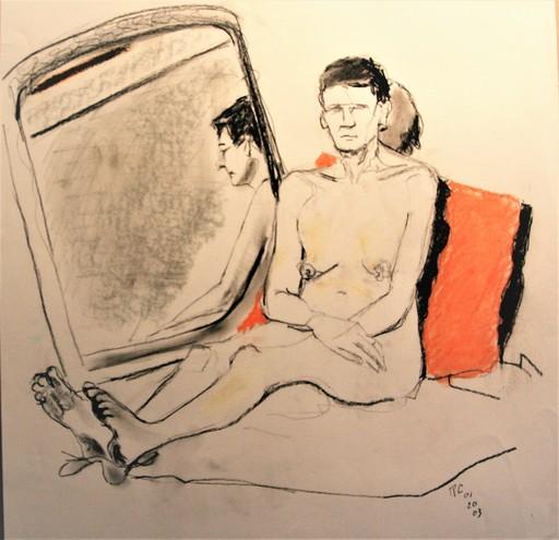 R.CAVALIÉ - Drawing-Watercolor - N.R. 139